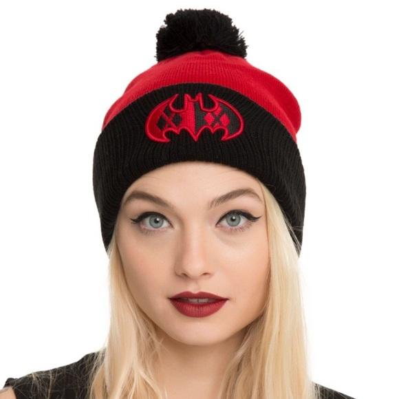 89d46e60d50 ❤️SALE❤ New~ Batman Harley Quinn Knit Beanie Hat